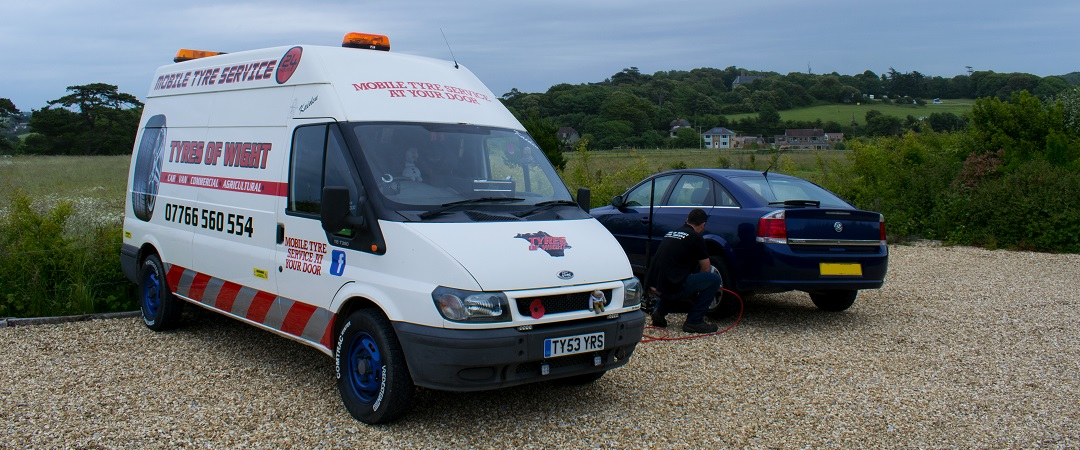 Welcome to Tyres of Wight Car – Van – Commercial – Agricultural  Mobile Tyre Fitting Service To Your Door on The Isle of Wight.